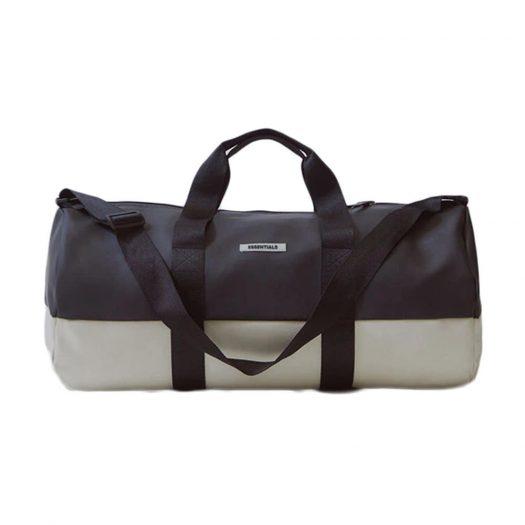 Fear of God Essentials Waterproof Duffel Bag Black/White
