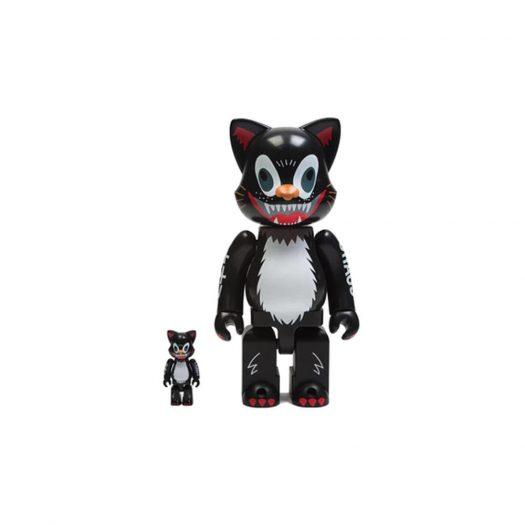 Bearbrick Kidill Cat Nyabrick 100% & 400% Set