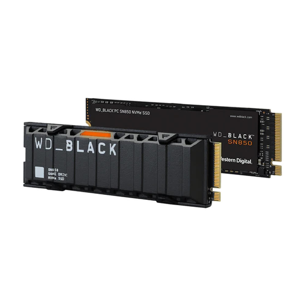 Western Digital WD_BLACK SN850 NVMe SSD 2TB WDS200T1X0E-00AFY0