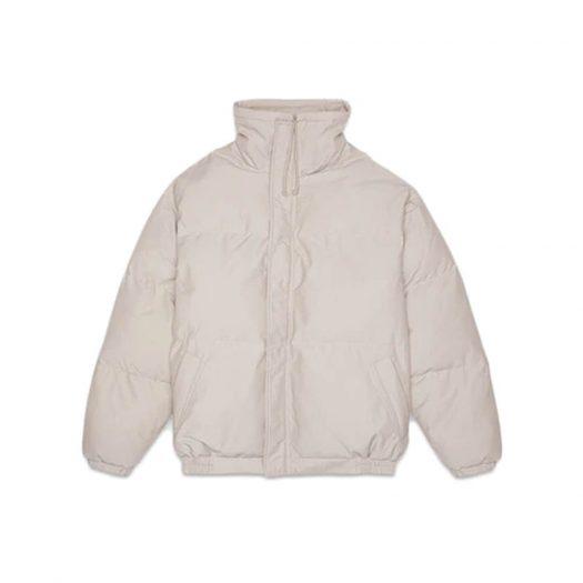 Fear of God Essentials Puffer Jacket Moss