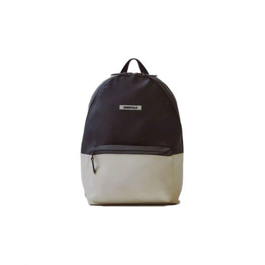 Fear of God Essentials Waterproof Backpack Black/White