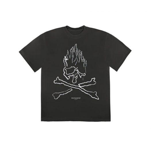 Travis Scott Cactus Jack For Mastermind Skull T-shirt Black