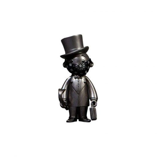 Monopoly x Switch x Bait Mr. Pennybags Vinyl Figure Silver