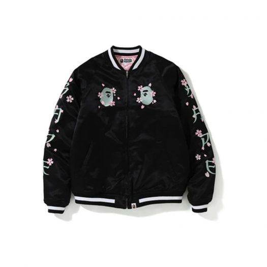 BAPE Sakura Souvenir Jacket Black