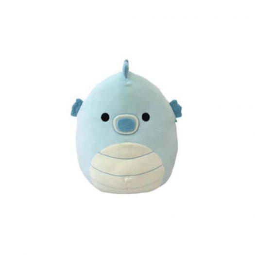 Squishmallow Sheldon The Blue Seahorse 12 Inch Plush Blue