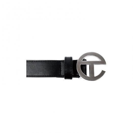 Telfar Logo Belt Black
