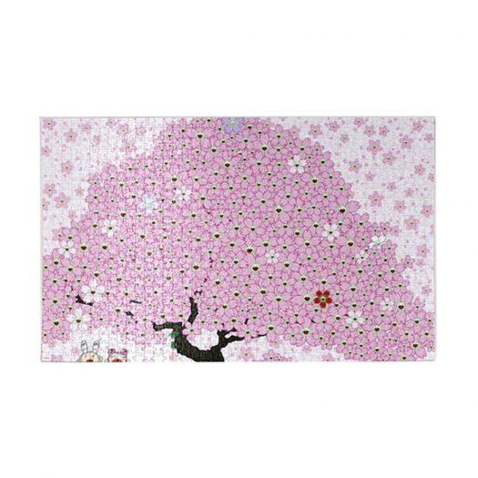 Takashi Murakami Kaikai Kiki Cherry Blossom Jigsaw Puzzle