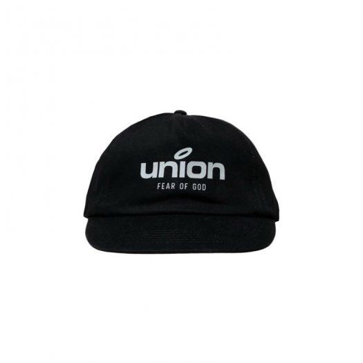 Fear of God x Union 30 Year Panel Hat Black
