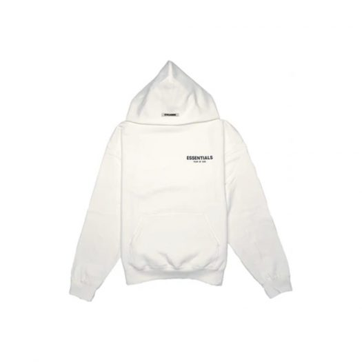 Fear of God Essentials Photo Pullover Hoodie (FW19) White