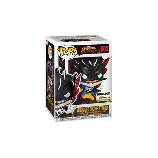 Funko Pop! Marvel Spider-Man Maximum Venom Venomized Doctor Strange GITD Amazon Exclusive Figure #602