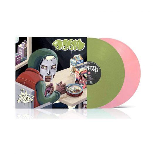 MF Doom - Mmm...Food (2xLP - Green & Pink) Vinyl