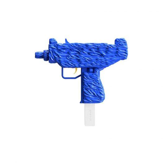 Shoeuzi We Are Not Friends 75% Sculpture Blue