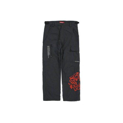Supreme Support Unit Nylon Ripstop Pant Black