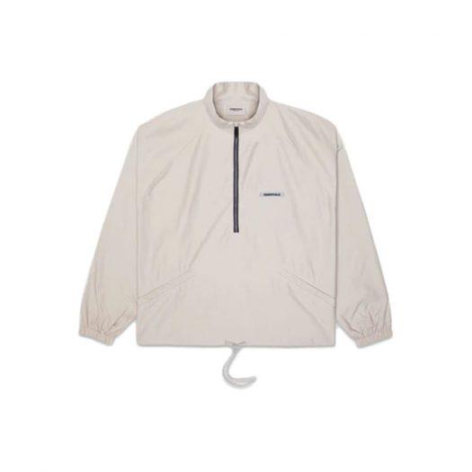 Fear of God Essentials Half Zip Track Jacket Moss