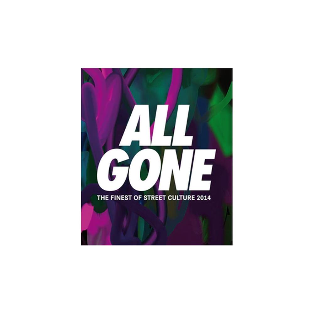 All Gone 2014 Book Dark Paint