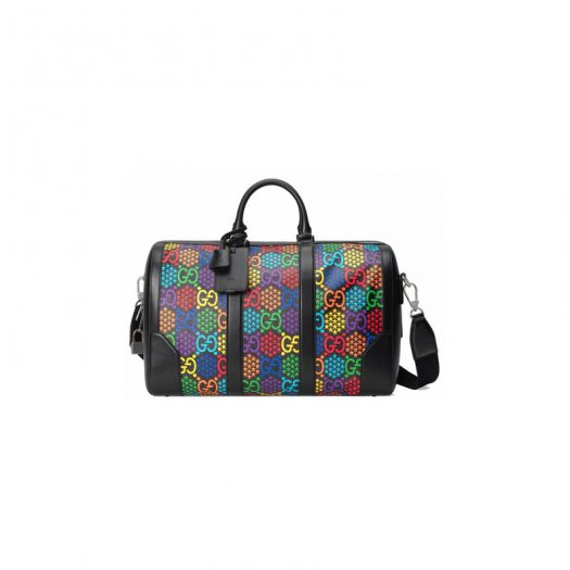 Gucci Carry-On Duffle GG Psychedelic Medium Black