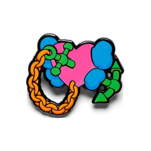 KAWS Permanent Love Pin Multicolor