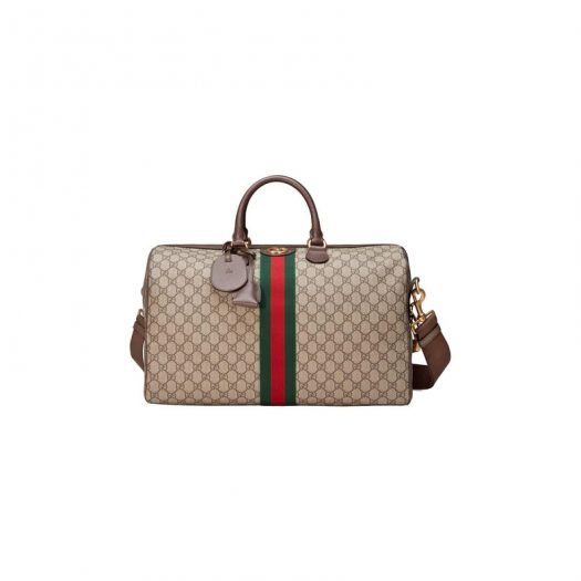 Gucci Ophidia GG Carry-on Duffle Medium Beige/Ebony