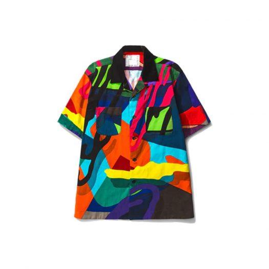 KAWS x Sacai Button Shirt Multi