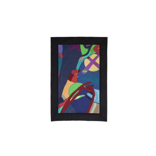 KAWS x Sacai Blanket Multi
