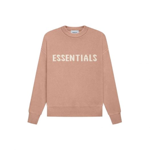 Fear of God Essentials Kids Knit Pullover Matte Blush
