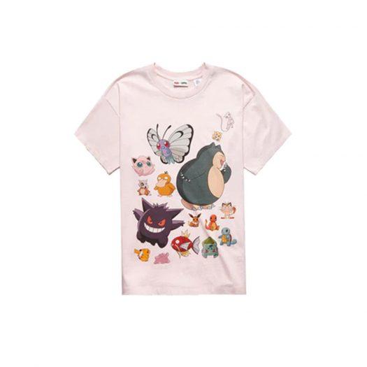 Levis x Pokémon Unisex T-shirt Pink