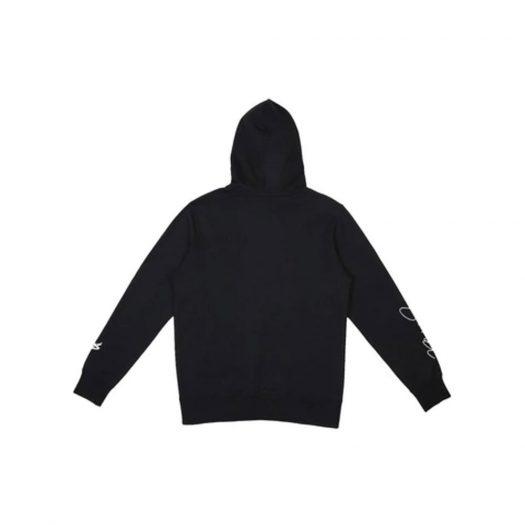 Jordan x CLOT NRG Hoodie Black/University Red/White
