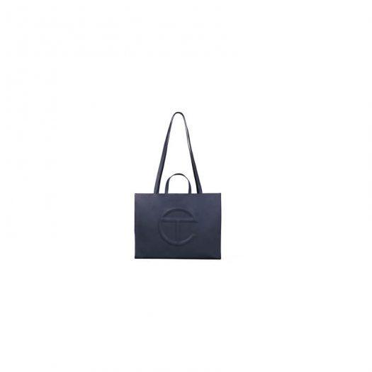 Telfar Shopping Bag Large Navy