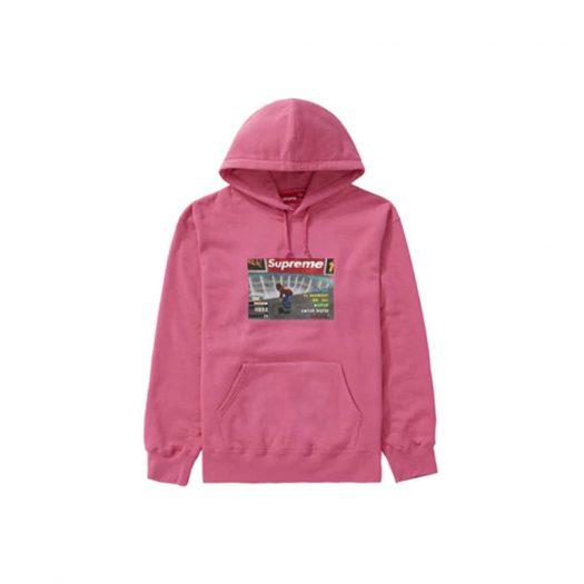 Supreme Thrasher Hooded Sweatshirt Magenta