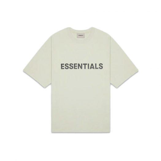 Fear of God Essentials Boxy T-Shirt Applique Logo Alfalfa Sage