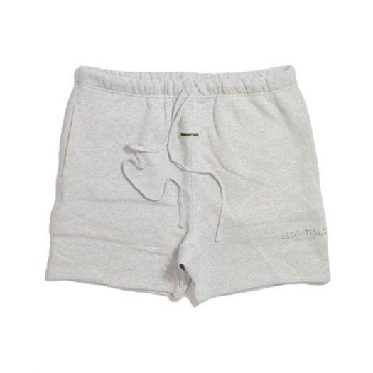 Fear of God Essentials Sweat Shorts Light Heather Grey