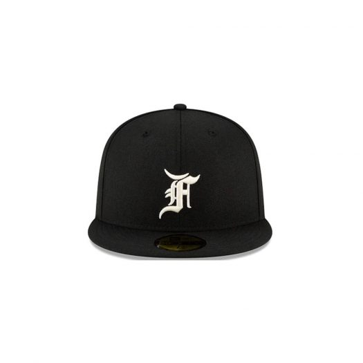 Fear of God Essentials New Era 59Fifty Fitted Hat (FW21) Black