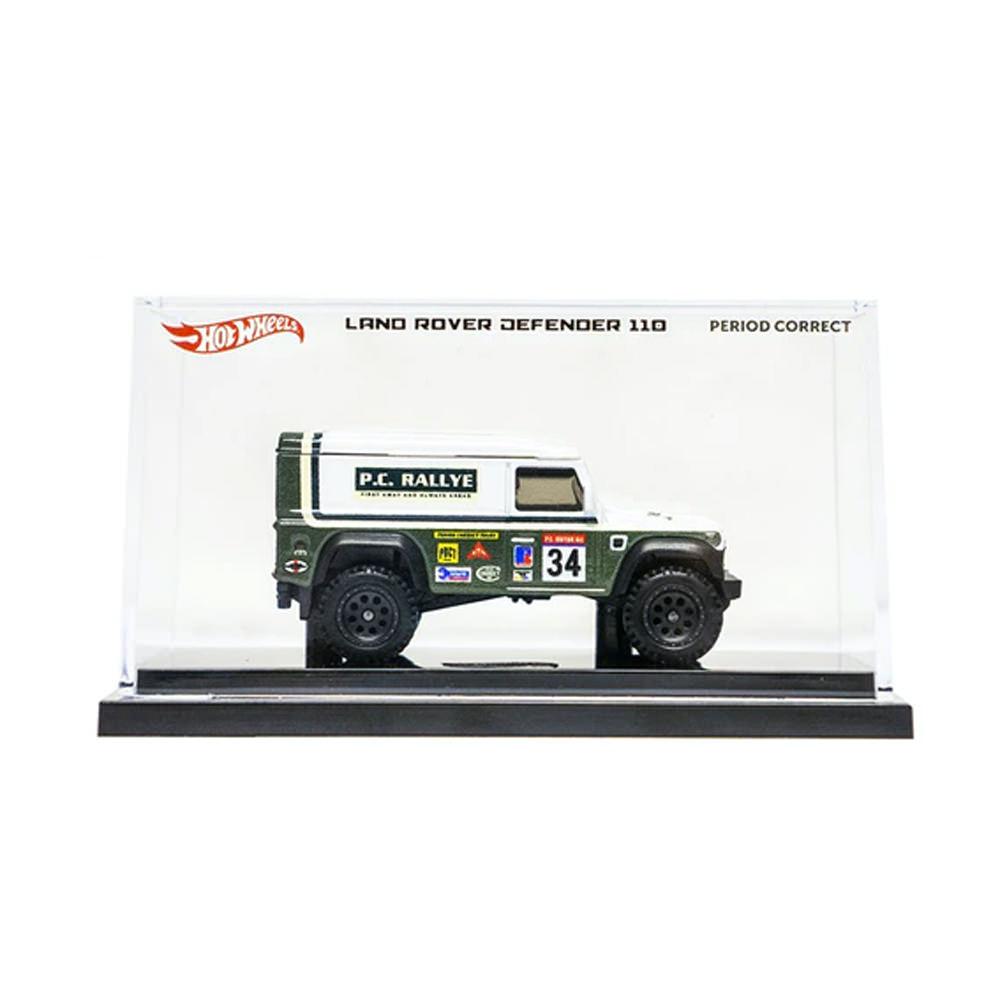 Hot Wheels Land Rover Defender 110 Die-Cast