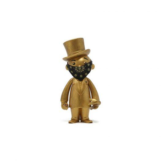 Monopoly x Switch x Bait Mr. Pennybags Vinyl Figure Gold
