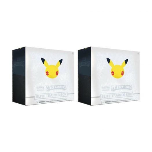 Pokémon TCG 25th Anniversary Celebrations Elite Trainer Box 2x Lot