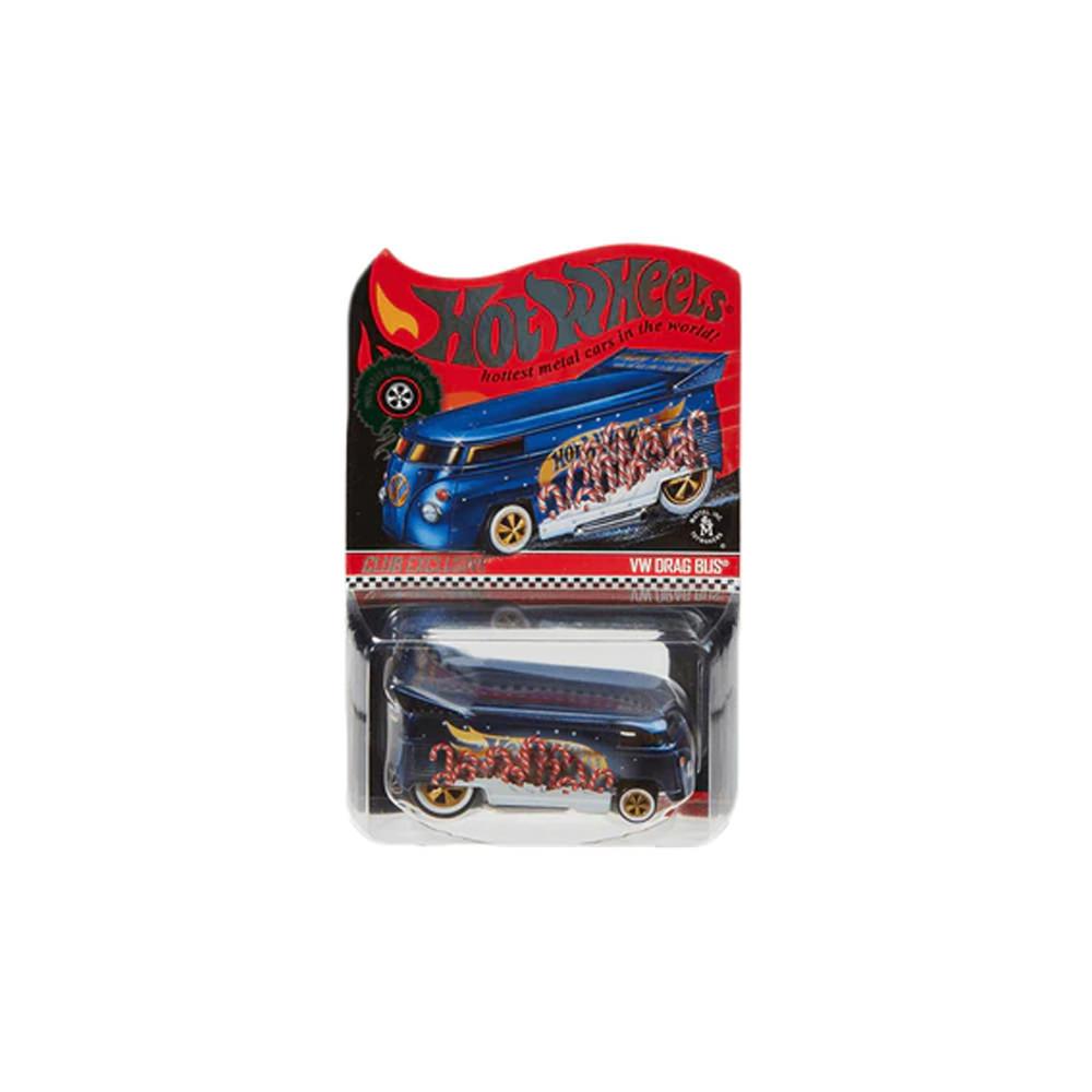 Hot Wheels RLC Volkswagen Drag Bus Spectraflame Steel Blue