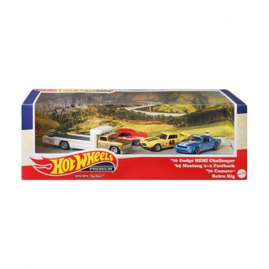 Hot Wheels 2021 Walmart Premium Diorama Set