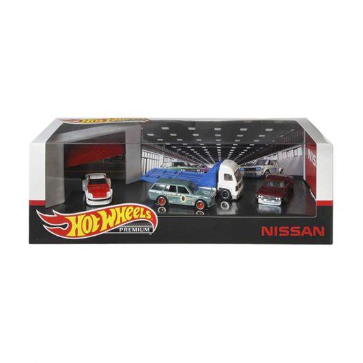 Hot Wheels Premium Collectors Nissan Set