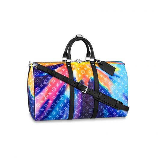 Louis Vuitton Keepall Bandouliere 50 Sunset Monogram Multicolor