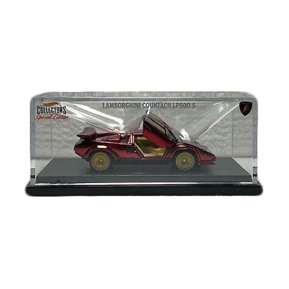 Hot Wheels RLC 82 Lamborghini Countach LP500 S Spectraflame Red