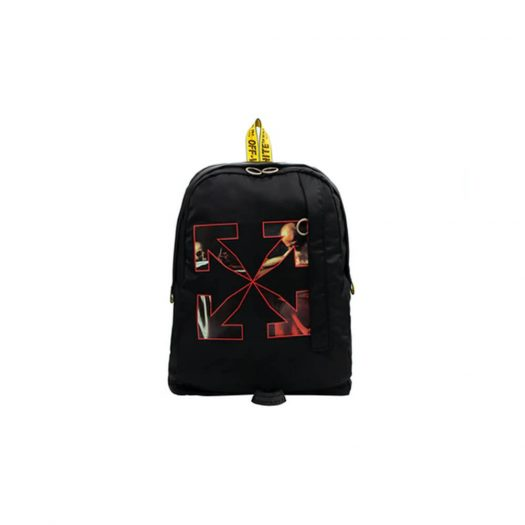 OFF-WHITE Caravaggio Easy Backpack Black/Red
