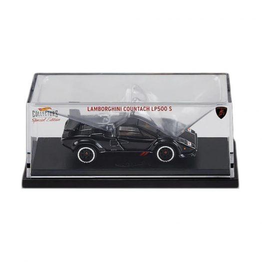 Hot Wheels RLC 1982 Lamborghini Countach LP500 S Spectraflame Black