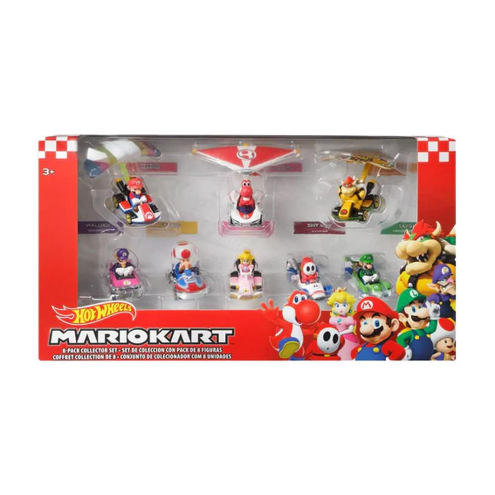 Hot Wheels Mario Kart Collectors Set of 8