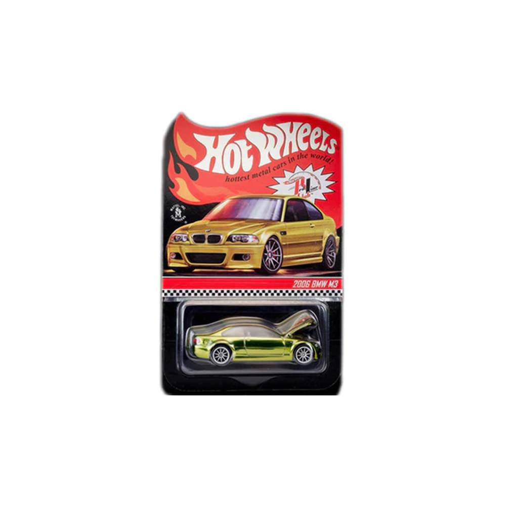 Hot Wheels BMW M3 E46 Phoenix Yellow Metallic