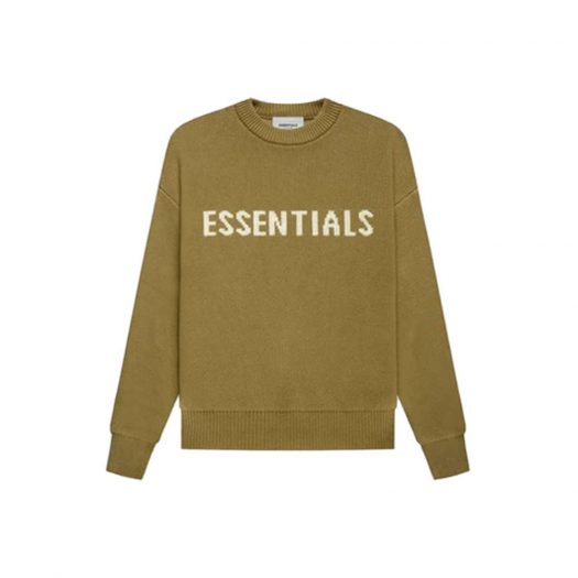 Fear of God Essentials Kids Knit Pullover Amber