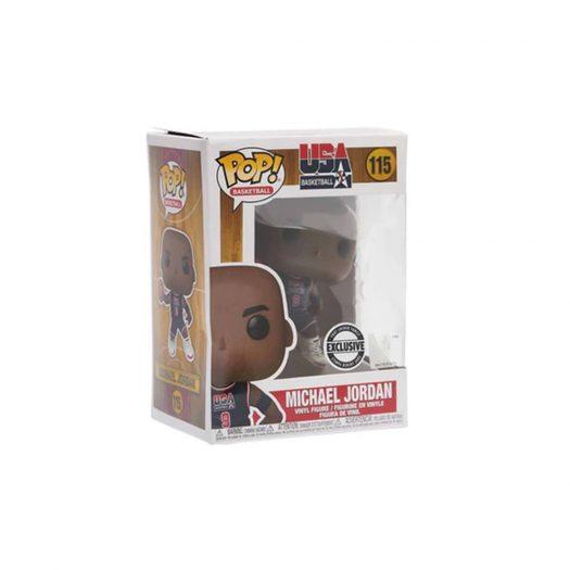 Funko Pop! Basketball USA Basketball Michael Jordan Foot Locker Family Exclusive Figure #115