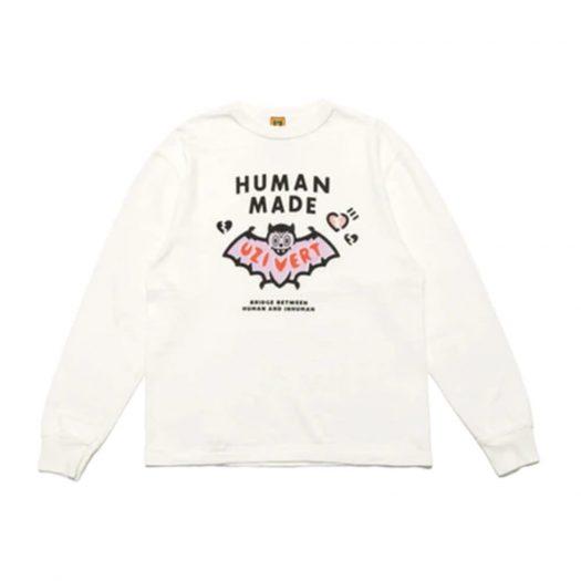 Human Made x Lil Uzi Vert L/S T-shirt White