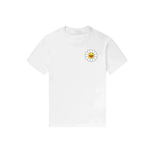 J Balvin Blanco x Takashi Murakami Flower Tee White