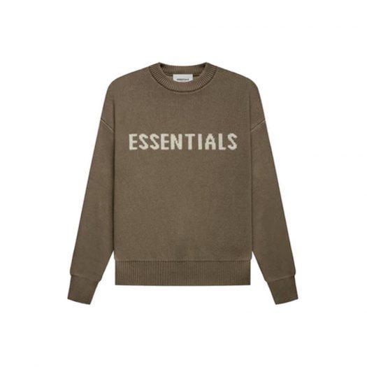 Fear of God Essentials Kids Knit Pullover Harvest