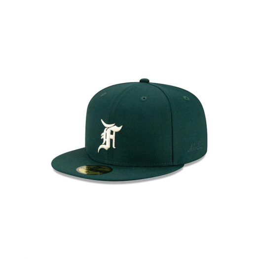 Fear of God Essentials New Era Exclusive 59Fifty Fitted Hat (FW21) Green